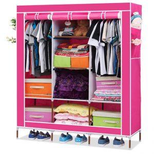 Tủ vải đựng quần áo cỡ lớn 3 buồng giá rẻ Verygood