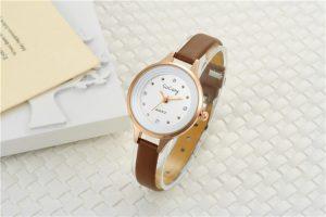 Đồng hồ nữ dây da thời trang cao cấp GoGoey G02 có thiết kế thời trang, phong cách