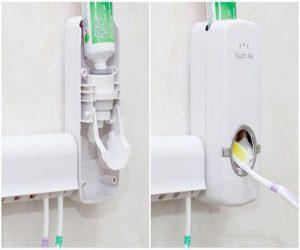 Dụng cụ lấy kem đánh răng tự động có thiết kế đơn giản, dễ sử dụng