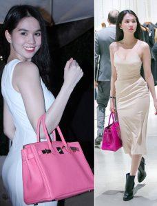 Một chiếc túi xách màu hồng phù sẽ giúp bạn theo kịp xu thế thời trang đang thịnh hành