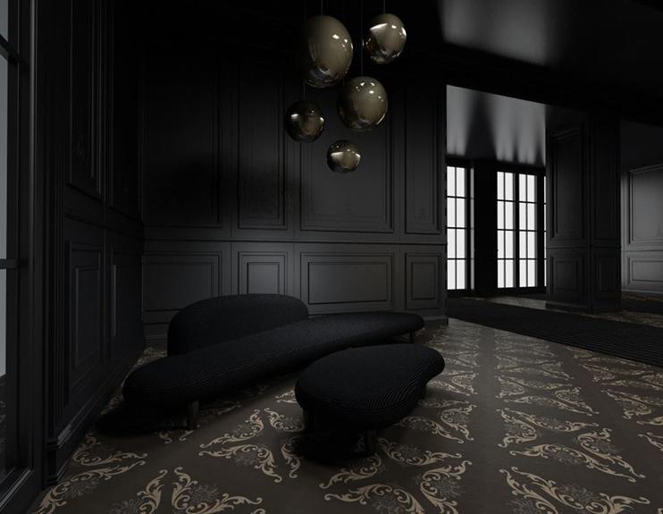 Màu sơn đen nhámv