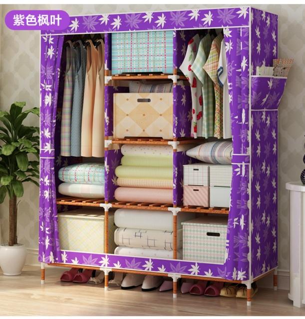 Thiết kế  tiện lợi và giá cả phải chăng là những ưu điểm vượt trội của tủ vải
