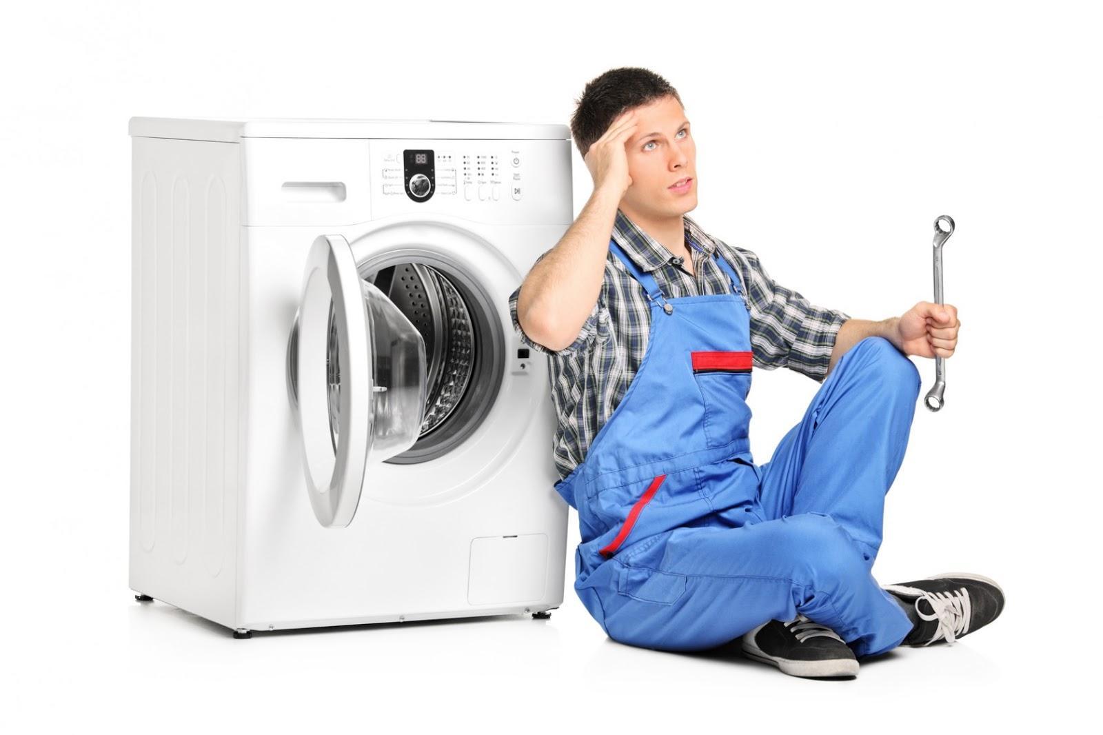 Những lỗi cơ bản thường gặp khi sử dụng máy giặt