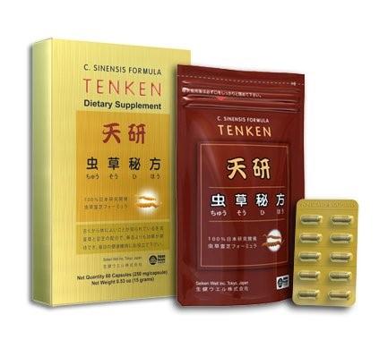 Giới thiệu về Đông trùng hạ thảo Tenken của Nhật Bản