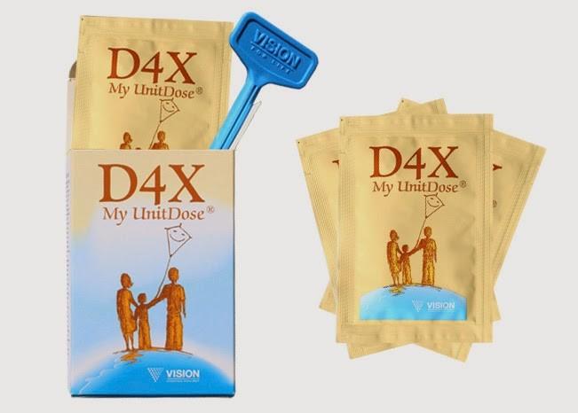 Thực phẩm chức năng D4x my unit dose Vision