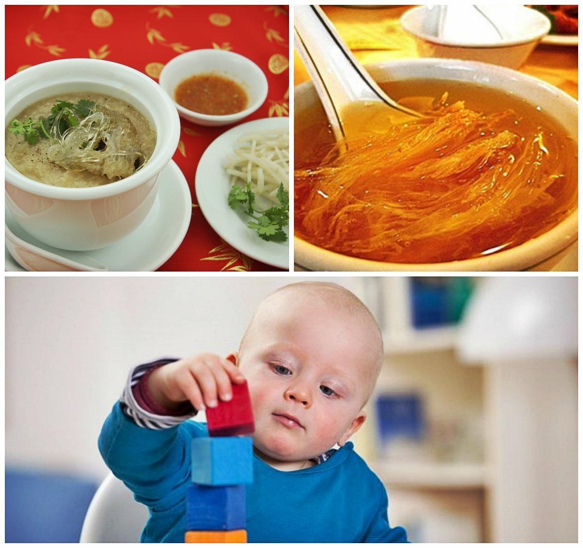 Tổ yến giúp ngăn ngừa các chứng bệnh về tiêu hóa ở trẻ