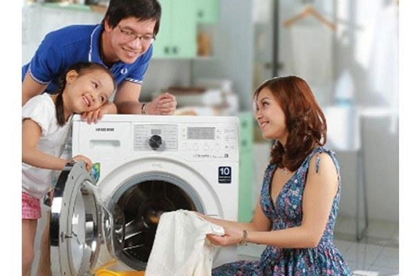 Cách khắc phục sự cố máy giặt