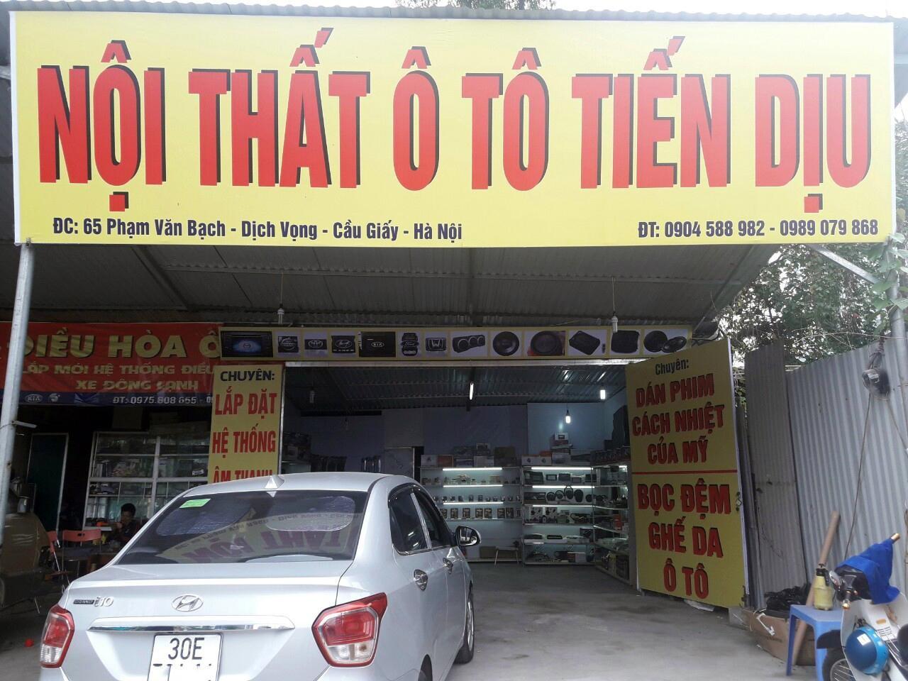 Cơ sở Tiến Dịu Auto tại Phạm Văn Bạch, Cầu Giấy