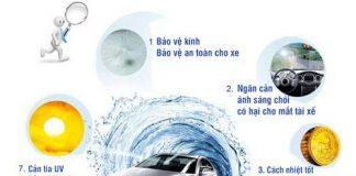 Những lợi ích của dán kính cách nhiệt ô tô.
