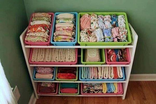 Hướng dẫn các mẹ cách sắp xếp tủ quần áo cho bé sơ sinh khoa học