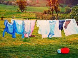Cách vắt quần áo bằng máy giặt Sanyo