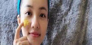 Đắp mặt nạ tinh bột nghệ-Phương pháp làm trắng da tự nhiên tại nhà