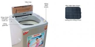 Hướng dẫn vệ sinh máy giặt Aqua đúng cách đơn giản