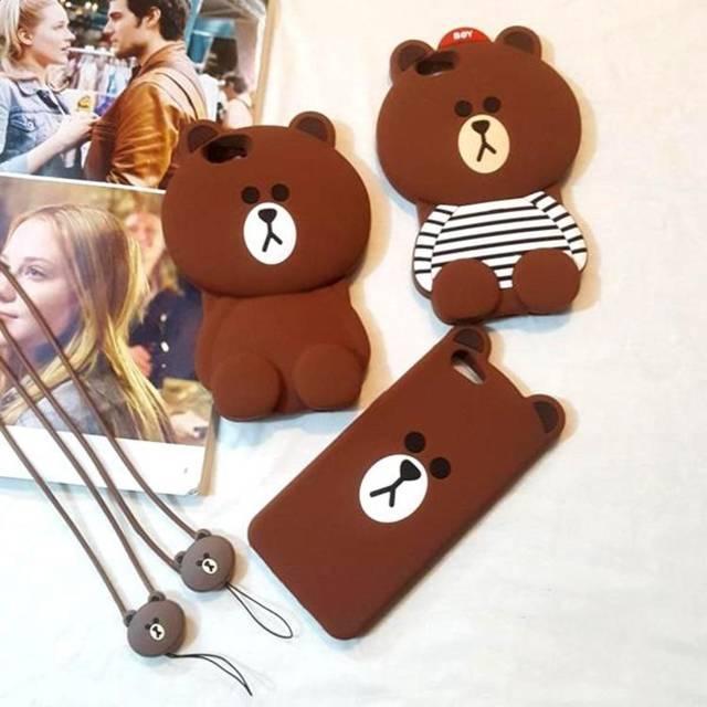 Ốp điện thoại hình nhân vật gấu mập