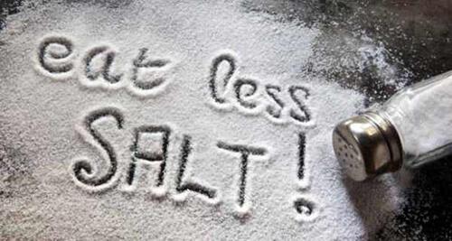 Giảm lượng muối đưa vào cơ thể