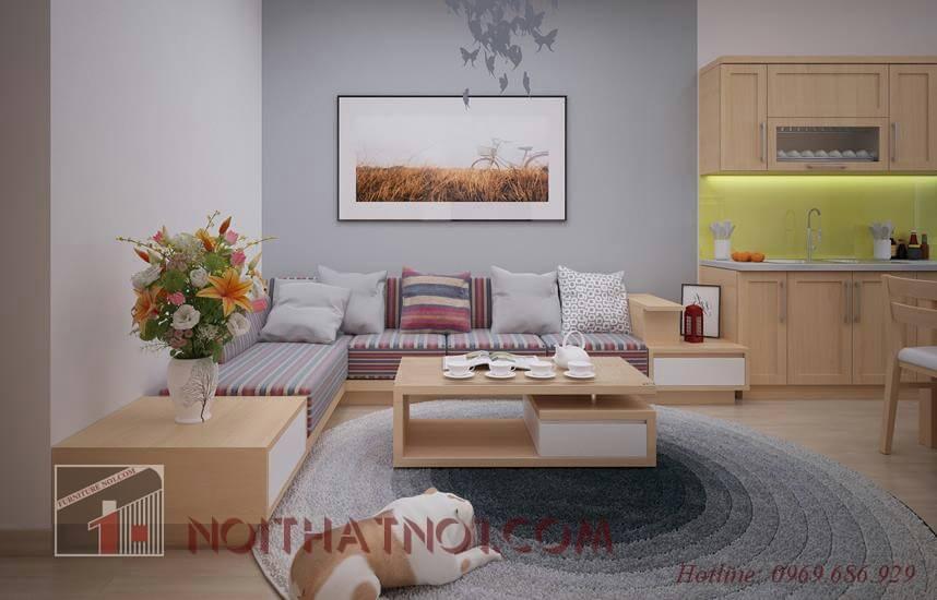 Bộ bàn ghế gỗ chung cư được ưa chuộng nhất