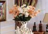 Bình hoa cặp thiên nga gốm sứ