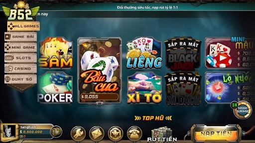 Bingo Club thế giới game bài khủng